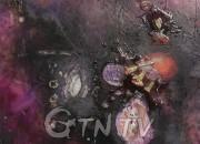사본 -Pinkish Universe_61x81cm_Mixed Media_2014